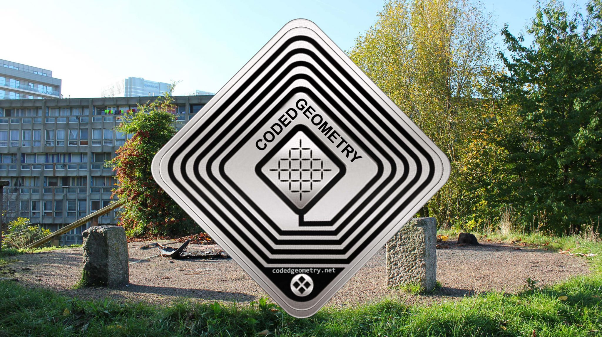 Coded Geometry by artist John wild